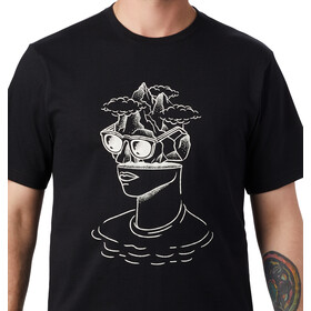 Mountain Hardwear Head in the Cloud Camiseta Manga Corta Hombre, black